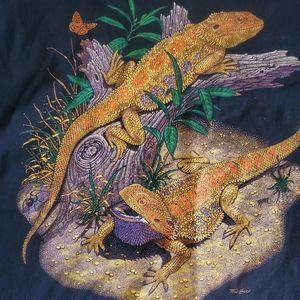Gildan Tops - Bearded dragon t shirt